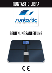 runtastic LIBRA RUNSCA1B Manual Do Utilizador