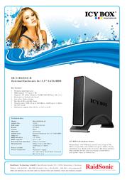 Raidsonic IB-318STUS2-B Leaflet