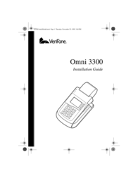 VeriFone 3300 User Manual