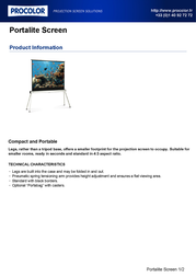 Procolor Portalite Screen 090610 Leaflet