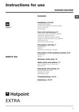Hotpoint   WMXTF822P  WMXTF842G  WMXTF842K  WMXTF842P   Washer Door Lock Interlo