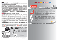 Kemo Car Voltage Spike Protector M168 Information Guide