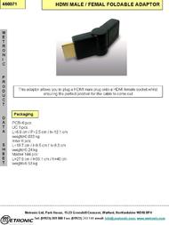 Metronic 460071 Leaflet