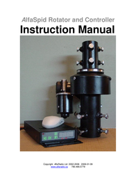 Alfa SPID ROTATOR AND CONTROLLER User Manual