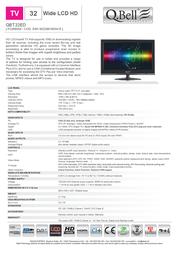 QBell Technology QBT.32ED P226600A Leaflet