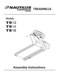 Nautilus t914 User Manual