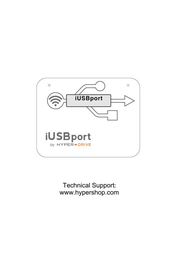 Sanho HyperDrive iUSBport Black iUSB-Black Data Sheet