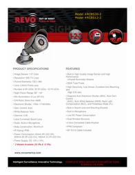 Revo RCBS12-2 Leaflet