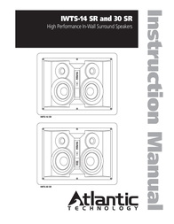 Atlantic Technology IWTS-14 SR User Manual