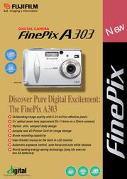 Fujifilm FINEPIX A303 ZOOM A303 Leaflet