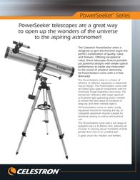 Celestron PowerSeeker 60AZ 21041 Leaflet