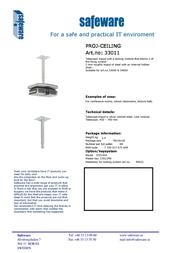 Safeware 33011 Leaflet