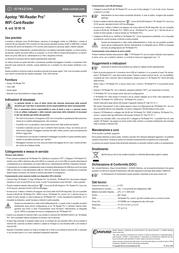 Apotop DW17 DW-17 Leaflet