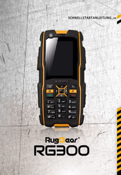 RugGear RG300 B00100 User Manual