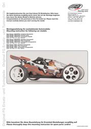 Fg Modellsport 1:5 RC model car Petrol Buggy G62040R User Manual