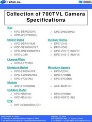 KT&C KPC-DSP81NUB User Manual