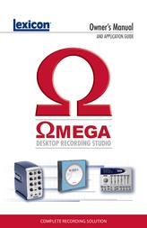 Lexicon Omega Data Sheet