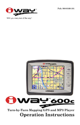 Lowrance 600c Operating Guide