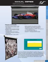 Elite Screens M135XWV1 Leaflet