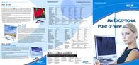 """Acer AL1721 17"""" TFT .26 75kHz ET.L0408.012 Dépliant"""