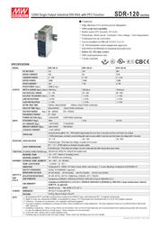 MEAN WELL SDR-240-24 Data Sheet