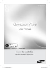 Samsung ME18H704SFG/AA Owner's Manual