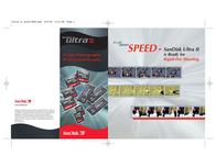 Sandisk Compact Flash Card 512Mb Ultra II SDCFB-512-902 Leaflet