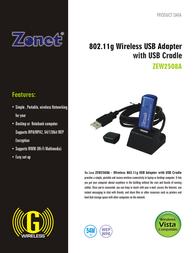 Zonet ZEW2508A Leaflet