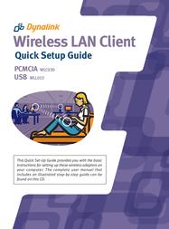 Dynalink Wireless LAN Client USB WLL013 User Manual