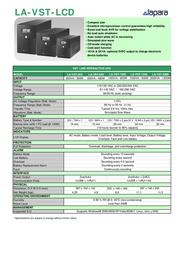 Lapara LA-VST-1000LCD Leaflet