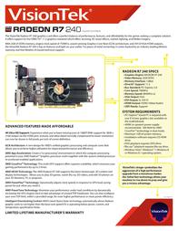VisionTek 900684 Leaflet