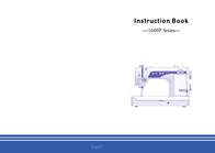 Janome -1600P Series- User Manual