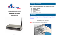 AirLink AR570W Quick Setup Guide