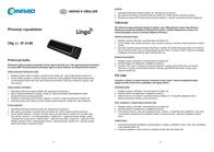 Lingo Xtatic v2, black MP3 Player Speaker, Black AU-0013-BK Leaflet