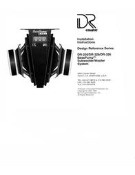 Coustic DR-326 User Manual