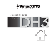 SiriusXM SXDH3 Home Kit Owner's Manual