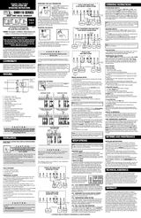 Lux Products DMH110 Leaflet