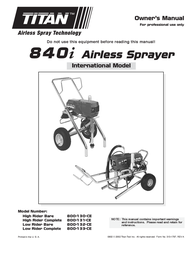 Wagner SprayTech 840i User Manual