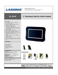 Lasonic jl-016 Specification Guide