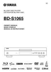 Yamaha YHT-S1400 AYHTS400BLBRAY User Manual