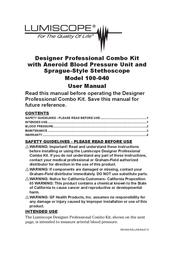 Lumiscope Blood Glucose Meter 100-040 User Manual