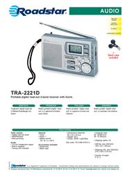 Roadstar TRA-2221D Leaflet