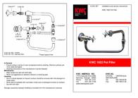 KWC POT FILLER KWC 1922 Leaflet