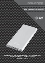 iTEC PB12000 User Manual
