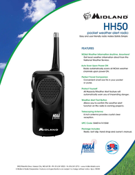Midland HH50 Leaflet