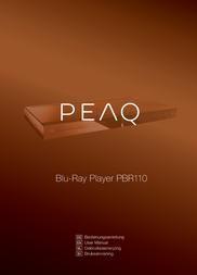 PEAQ PBR110 User Manual