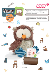 NICI Oscar the smart owl 37116 Leaflet