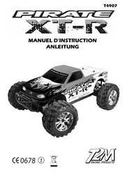 T2m Brushed 1:10 RC model car Electric Monster T4907 User Manual