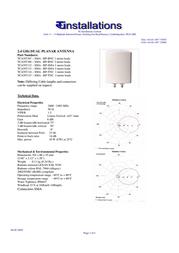 TC Installations TCANT107 TCANT107-10M Leaflet