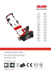 AL-KO SnowLine 46 E (112932) User Manual